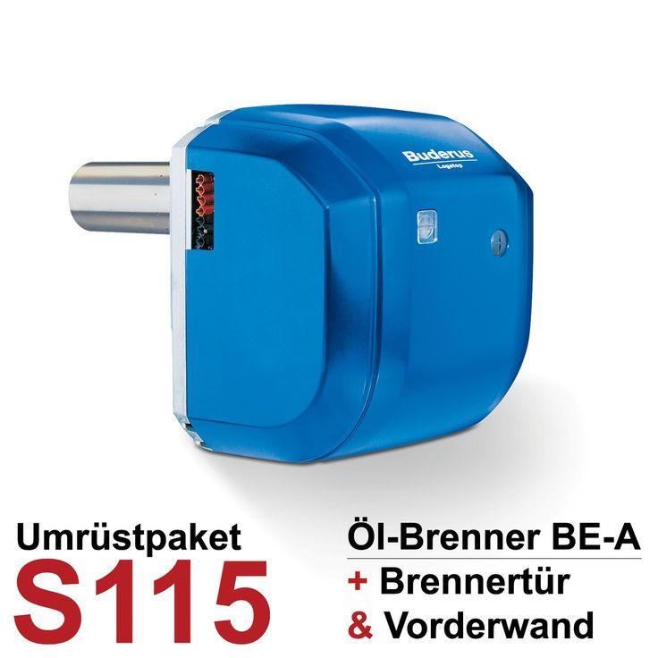 Buderus Logatop Öl-Brenner-Umrüstpaket S115 BE-A
