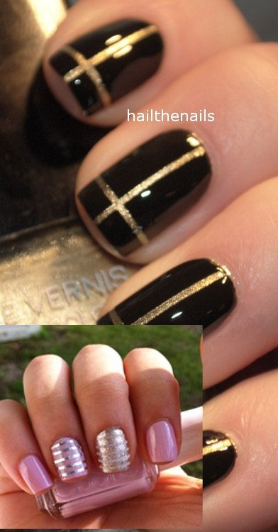 53 best nail art images on pinterest christmas nails hairstyles nail art 3 set striping tape sticker prinsesfo Gallery