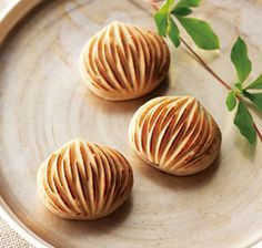 Chestnuts sweets. Baked so more tasty.