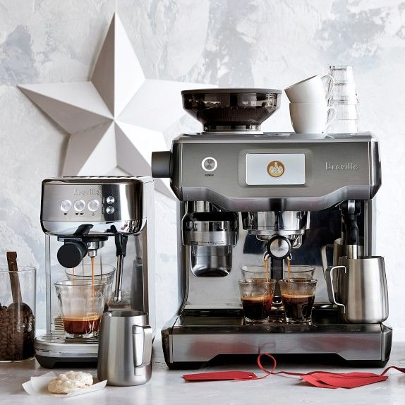 Breville Oracle Touch Espresso Machine Williams Sonoma Espresso Machine Espresso Coffee