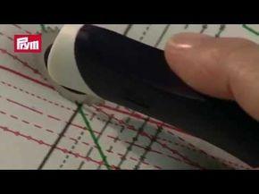 Reporter un patron sur du tissu : les bons outils - YouTube