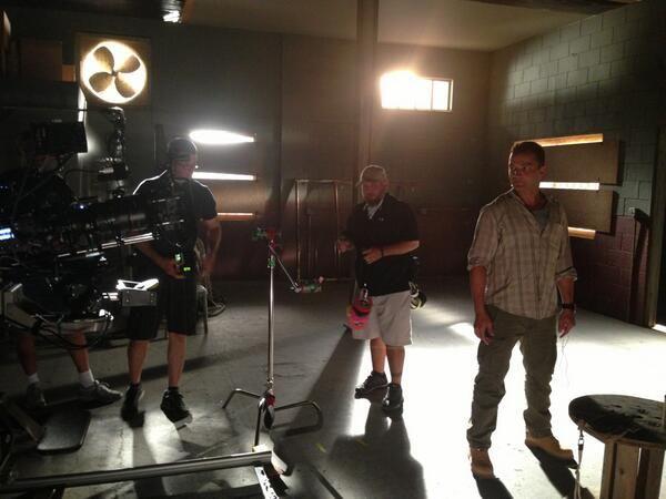 "Nick E Tarabay @nicktarabay via Twitter  |  21 Mar 13  |  On the set of"" Burn notice"" more 2 come!"