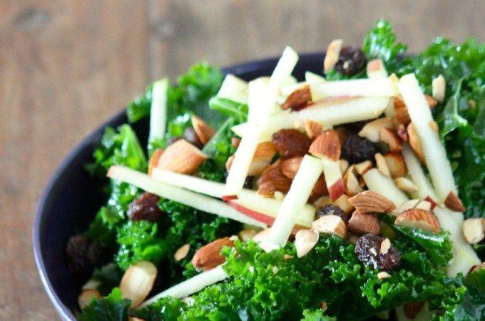 Winter Kale Salad I kristincosgrovecooks.com
