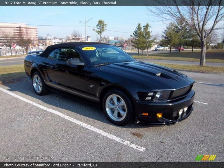 2007 mustang convertible | Back to this Black 2007 Ford Mustang GT Premium Convertible
