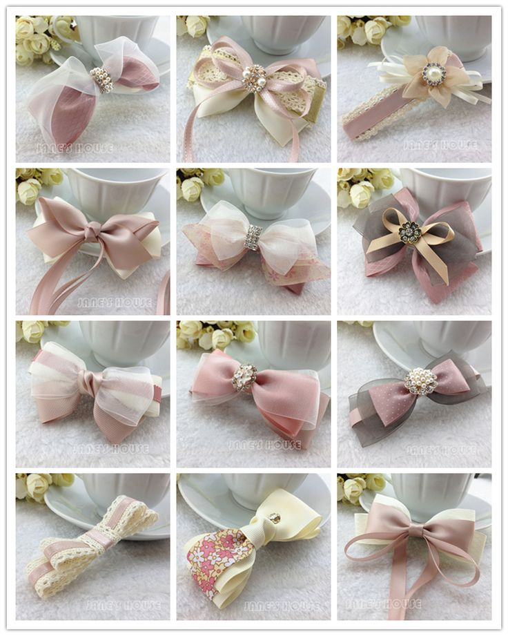 Sweet pink ribbon set