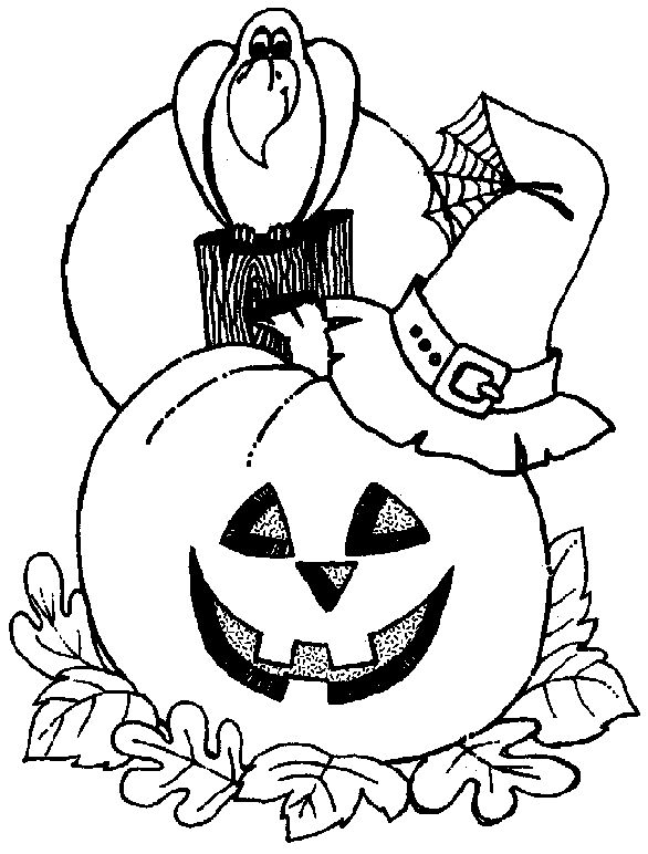 free printable halloween coloring pages for kids coloring home pages - Halloween Coloring Pages For Kids Printable Free 2