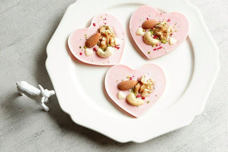 バレンタインに作りたい♡溶かして固めるだけのハートのマンディアンのレシピ