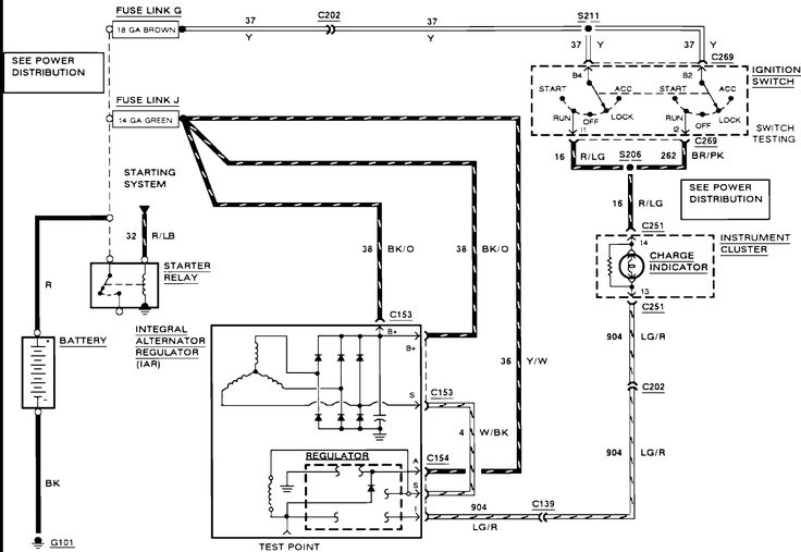 Ford Bronco Starter Solenoid Wiring Diagram Wiring Diagram
