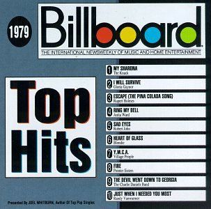"""Billboard Top Hits: 1979 offers a solid cross-section of what was in retrospect a really good year for pop radio. With disco still at its commercial zenith, dance hits like the Village People's """"Y.M.C"""