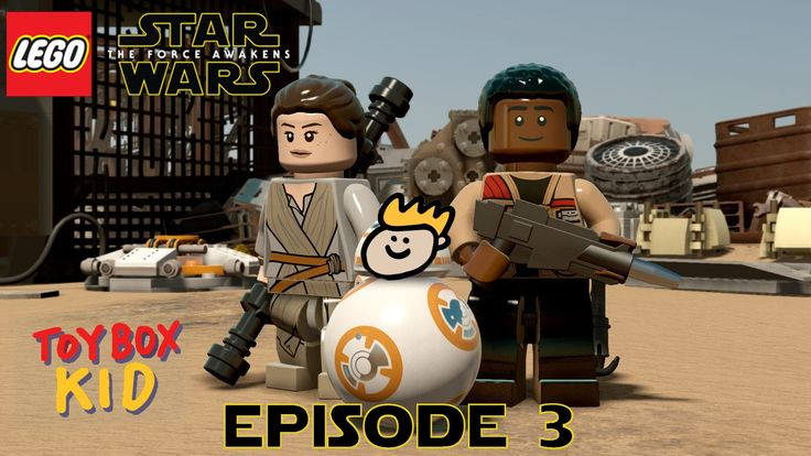 ToyBoxKid and ToyBoxDad play Lego Star Wars: The Force Awakens! In Episode 3 Finn and Poe escape from Kylo Ren and Rey meets BB-8. Subscribe: http://bit.ly/S...