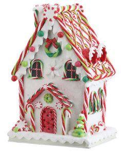 paper gingerbread house template - Google zoeken