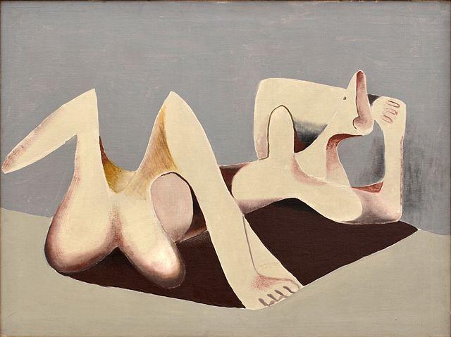 A. Wachsman - Ležící žena II., 1930