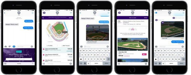 StubHub Launches iMessage App to Share and Vote On Events and Tickets #AppleNews #TechNews