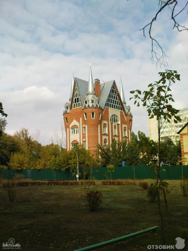 Замок в Городском парке Саратова      #Саратов #СаратовLife