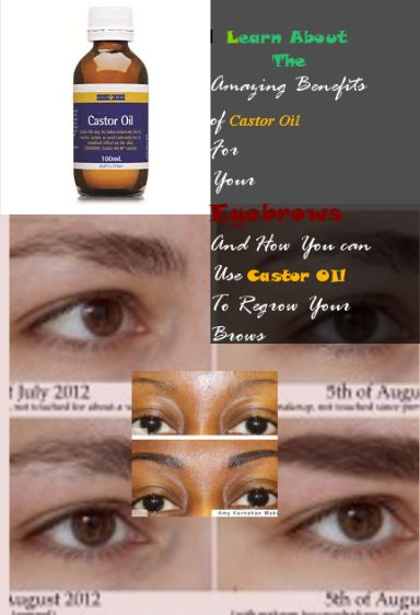 Castor oil for Eyebrows-Ways that castor oil is Beneficial ...