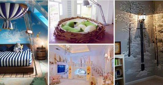 21 Fairy Tale Inspired Decorating Ideas for Child�s Bedroom