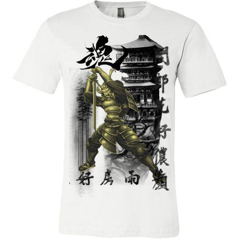 Samurai Soul.#tattootshirts#tshirts#samuraitshirts#samurai