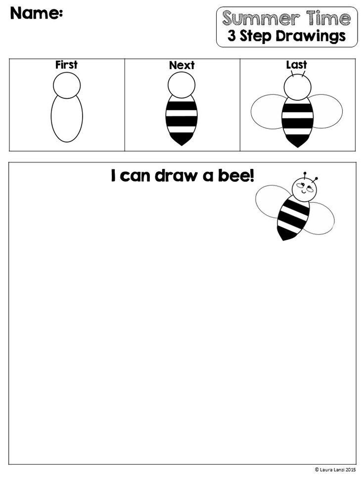 Printable Worksheets tlc worksheets : 7 best 3 Step Drawing Worksheets images on Pinterest | Summer ...