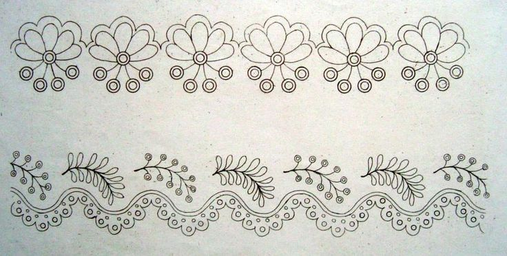 embroidery stitches patterns | 18th & 19th Century Whitework Embroidery | Jane Austens World