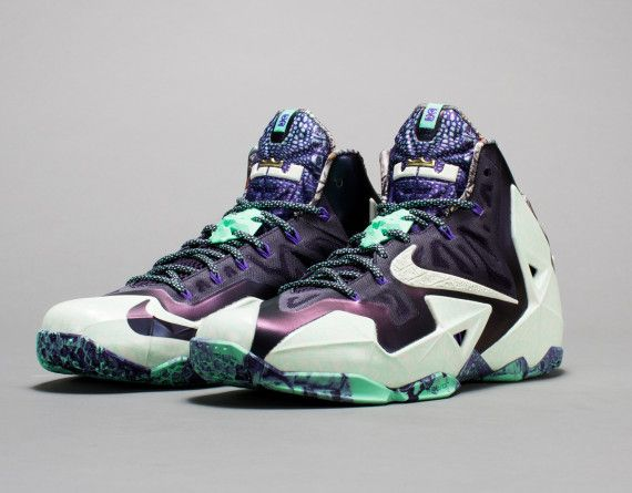 Nike LeBron 11 Gator King   NOLA Gumbo League Collection