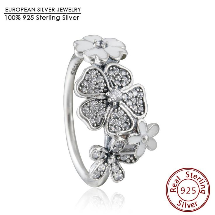 2016 New spring Collection Shimmering Bouquet ring with Enamel 925 sterling silver jewelry rings for women anillos Fine Jewelry www.bernysjewels.com #bernysjewels #jewels #jewelry #nice #bags