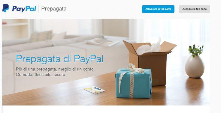 Affari Miei: Carta prepagata Paypal: opinioni e costi carta-con...