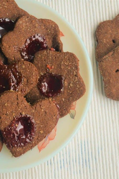 Chocolate Ghee Biscuits without Baking powder/soda - Powered by @ultimaterecipe