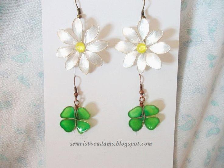 Вижте как го правим ние: Цветя от тел и лак за нокти-Цветы из проволоки и лака для ногтей-Wire flowers with nail polish
