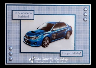 Bespoke Male Birthday Card