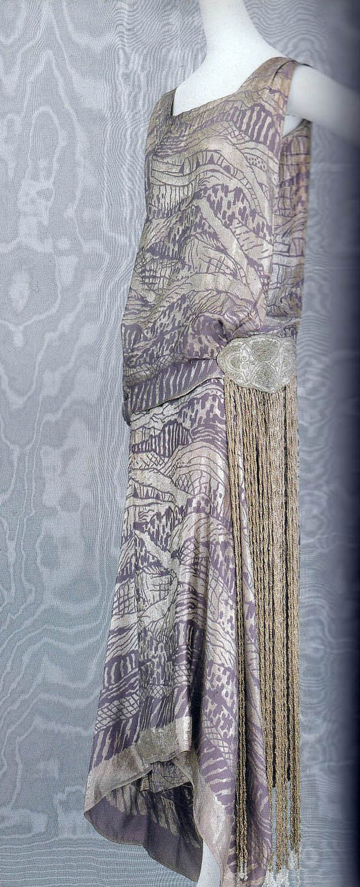 Liberty & Co., Art Deco 1920's Dress