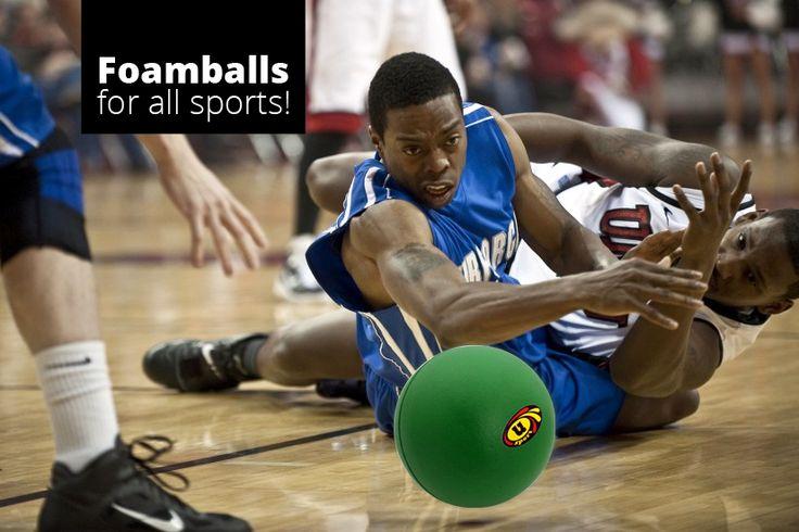 We manufacture Foam Balls for alll sports! http://foamballsdirect.co.uk/