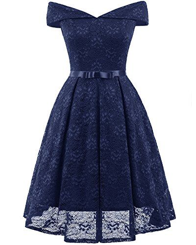 1530180a2aa71 VeryAnn Lace Swing Dress for Wome Party Club Night Vintage Cocktail Dress V  Neck