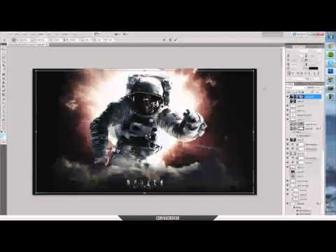 How to: Shattered Glass effect in Photoshop - YouTube