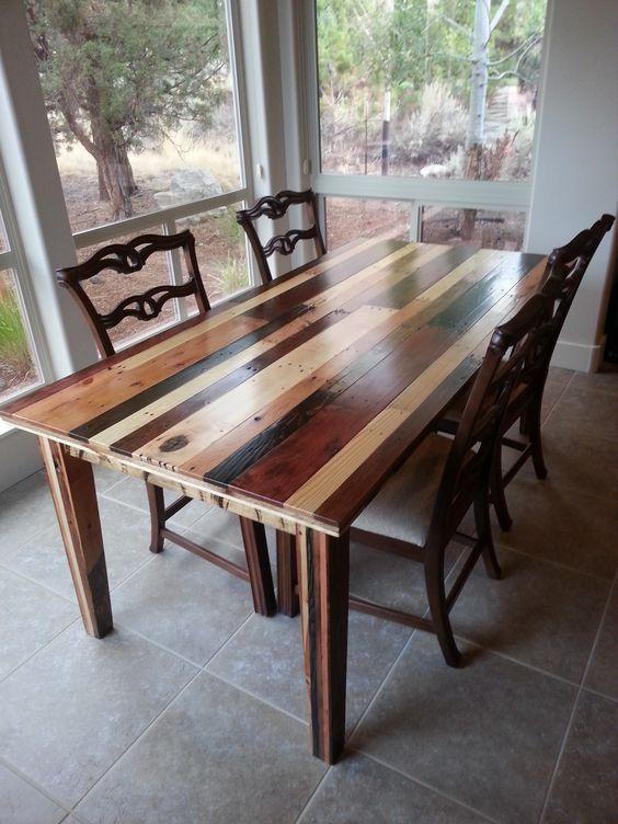 Table+à+manger+élégante+en+palette