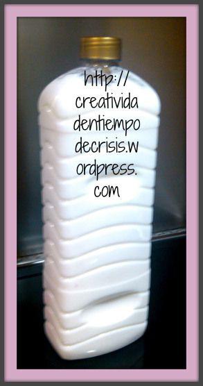 """DETERGENTE """"CASERO"""" PARA LAVADORA: una pastilla de jabón Lagarto de 150 gr., 3 litros de agua y 4 cucharadas de bicarbonato."""