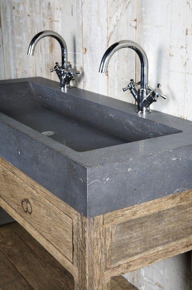 Wasbak Badkamer Kraan ~   badkamer zicht op metselwerk muur en daklicht seppe broekx badkamer