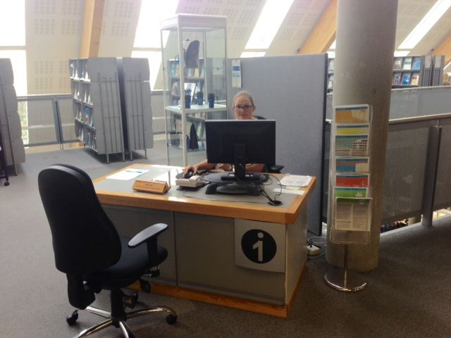 Our WIT Library information desk is now located just inside the entrance to Luke Wadding Library.