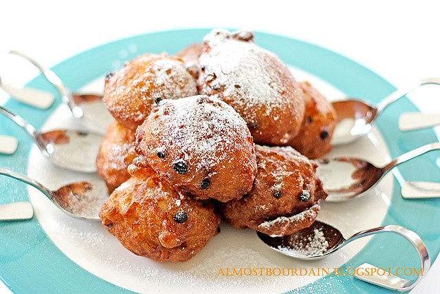 Oliebollen Recipe....Dutch New Years Eve Tradition