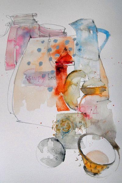 Shirley Trevena - I love her watercolour book