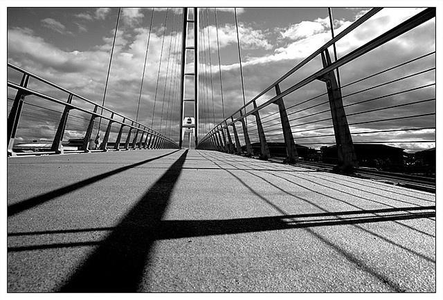 The Infinity Bridge in Stockton on Tees