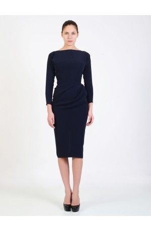 CREPE DRESS - Rhea Costa-Shop