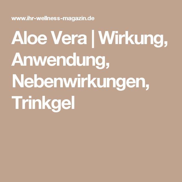 17 Best Ideas About Aloe Vera Wirkung On Pinterest | Schlaganfall ... Aloe Vera Pflanze Pflege Anwendung