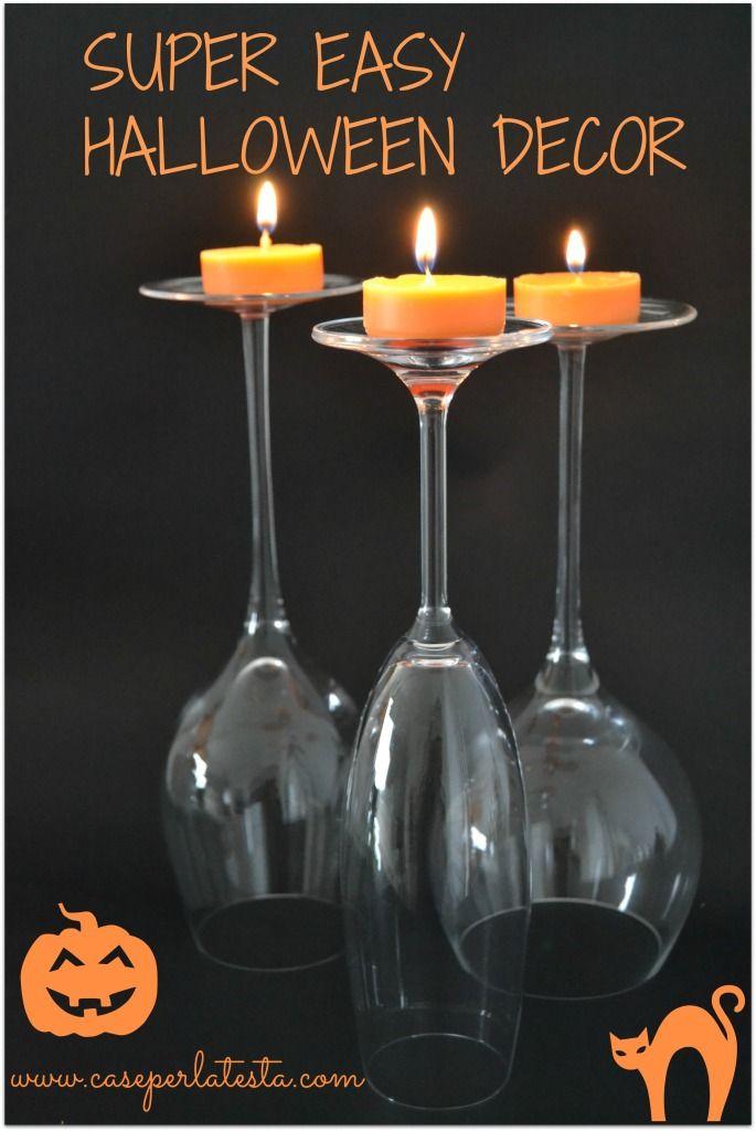 Decoro per la tavola di Halloween super facile e veloce – 2 minuti o meno!  * Halloween decoration for the table super fast and easy – 2 minutes or less!