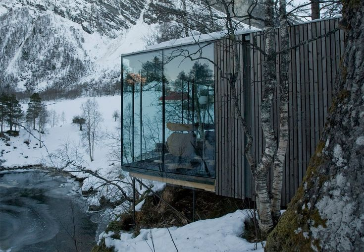 If It's Hip, It's Here: The Juvet Landscape Hotel. 7 Private Dwellings In The Norwegian Woods.