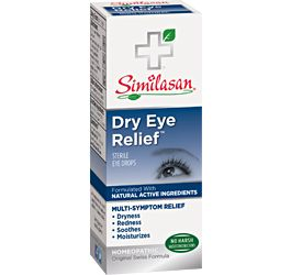 Similasan Dry Eye Relief ™. Drops for dry eyes you can use as often as needed…