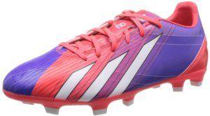 adidas F10 Trx Fg, Chaussures de football homme -Turbo/Noir/Blanc, 42 EU
