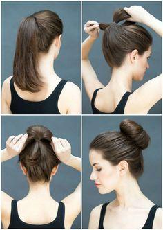 Pratik ve şık saç modelleri…