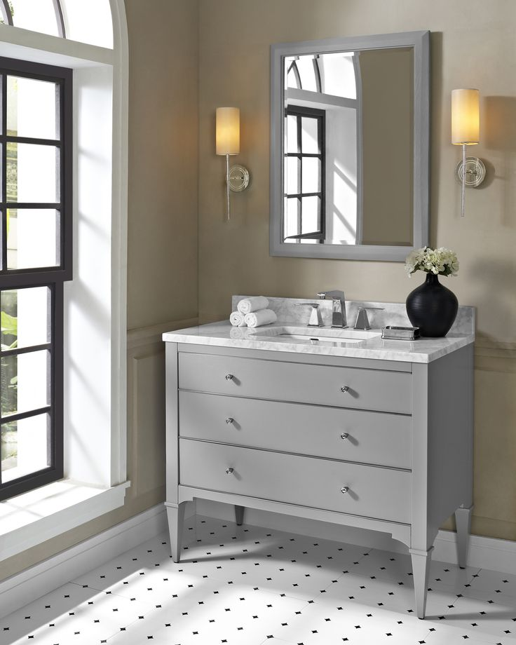 Digital Art Gallery Fairmont Designs Charlottesville Vanity for Integrated Sinktop Light Gray