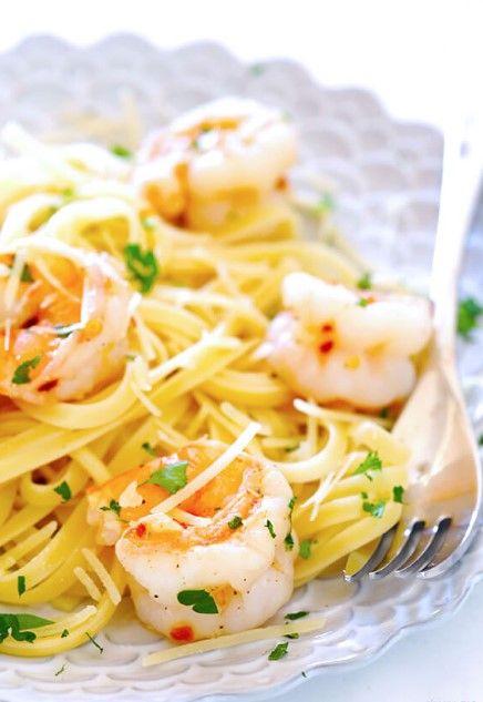 15-Minute Skinny Shrimp Scampi – Umar Blog