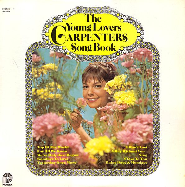 The Young Lovers (2) - Carpenters Song Book (Vinyl, LP, Album) at Discogs